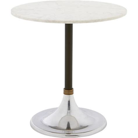 Cb2 Marble Coffee Table Hackney Marble Cocktail Table Cb2