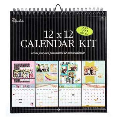 Calendar Kit 12 Quot X 12 Quot Calendar Kit Hobby Lobby