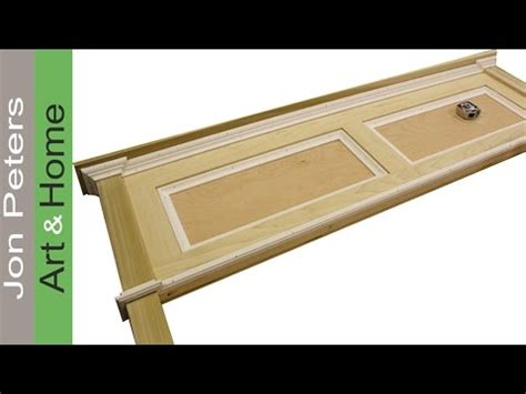 jon peters woodworking how to build a simple headboard free plans