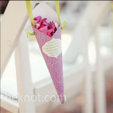 paper cones for wedding flowers cool could hang confetti cones on each chair wedding