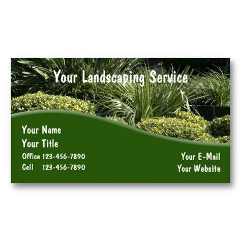 Gardening Services Business Cards Templates by 18 Best Images About Lawn Service Business Cards On