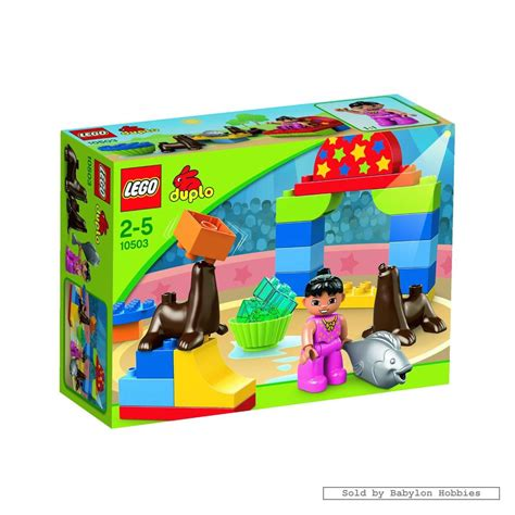 Lego Circus Show 3 duplo circus show by lego 10503 ebay