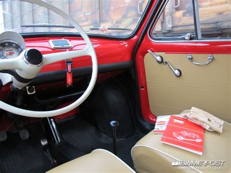 fiat 500 f interni bettino s mod year 1966 fiat quot nuova 500 quot f bimmerpost garage