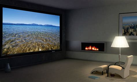 projector or tv for media room go big with a projector vancouver home technology solutions