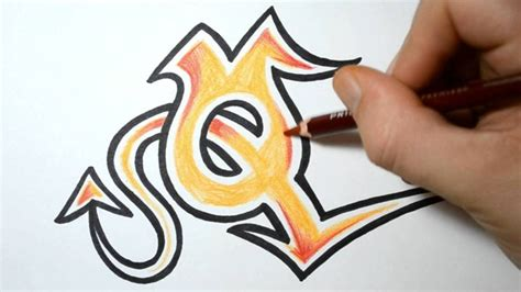 Drawing U N O by How To Draw Graffiti Letters Q