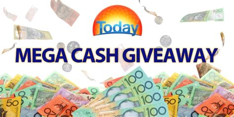 Win Cash Giveaway - today show mega cash giveaway win 10 000 with australian competitions