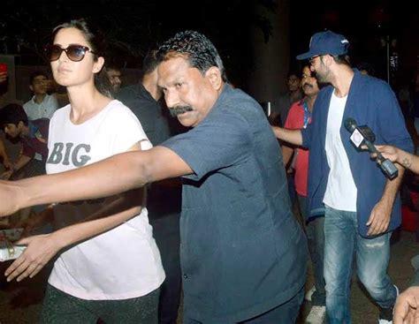 katrina kaif ranbir kapoor caught on secret camera auto design tech no more camera shy ranbir kapoor and katrina kaif return