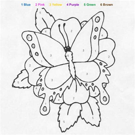 color by number butterfly coloring pages animal color by number coloring pages big butterfly
