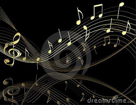 wallpaper gold music background with music notes royalty free stock photo
