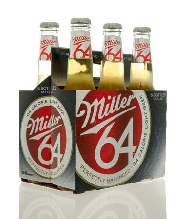 carbohydrates in miller 64 which popular beers the most calories and the
