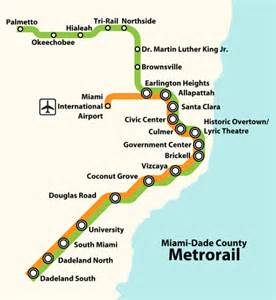 Miami Metro Rail Map by File Metrorail Miami Dade County System Map Svg