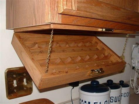 Kitchen Cupboard Spice Rack Creative Kitchen Storage Idea Cabinet Spice Rack