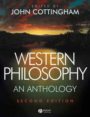 libro western philosophy an anthology western philosophy by john cottingham waterstones