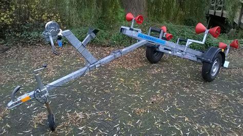 rubberboot op trailer te koop kanteltrailer voor rubberboot catawiki