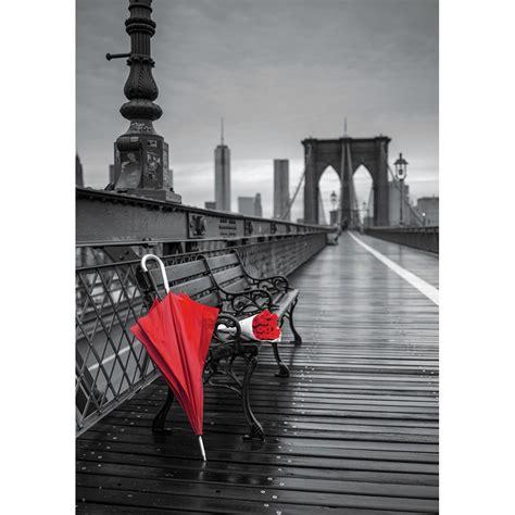 imagenes en blanco rojo y negro puzzle educa 1000 piezas paraguas rojo blanco y negro