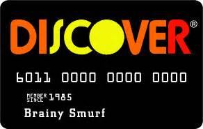 discover card another reason i don t carry one in a can