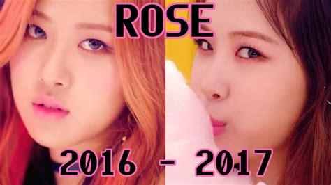 blackpink updated profile rose 루제 evolution blackpink members profile 3 4 update