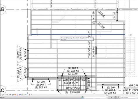 floor framing plan filters in revit for structural framing plans evstudio