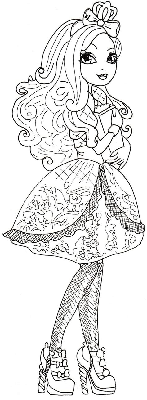 ever after high coloring pages royals free ever after high royals coloring pages