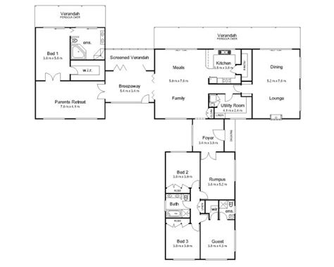 pavilion floor plan the pavilion 171 australian house plans