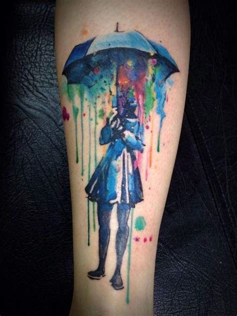 tattoo design colored cool watercolor tattoos 2017 designsmag