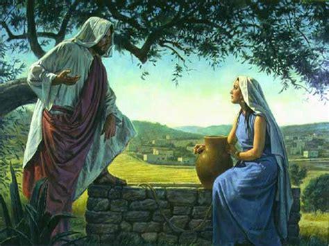 imagenes de jesus y la samaritana imagenes de la samaritana y jesus