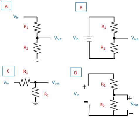 resistor divider output voltage divider electrical4u