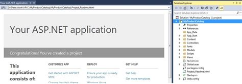 tutorial for web application in asp net building first asp net mvc application with entity