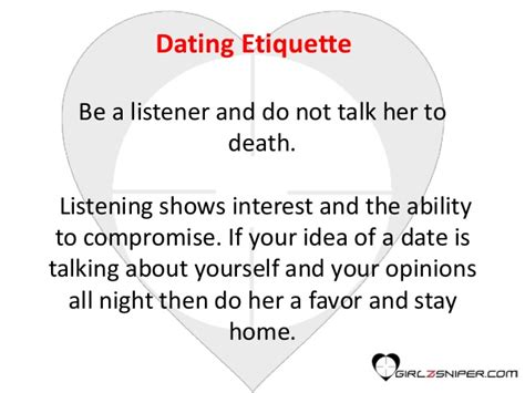 7 Etiquette Tips For A Date by Dating Tips For Dating Etiquette