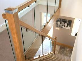 Stair Rails Uk by Toughened Glass Staircases Chrome Metal Iron Oak