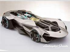 Concept Lamborghini Quanta, la supercar de 2020   chars ... Ioan Avant