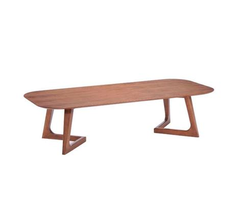 Modern Walnut Coffee Table Z097 Contemporary Walnut Coffee Table Modern