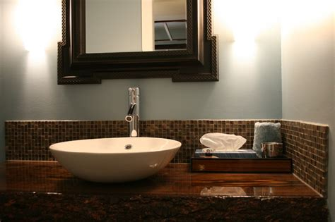 custom wood top vanity contemporary bathroom vanities