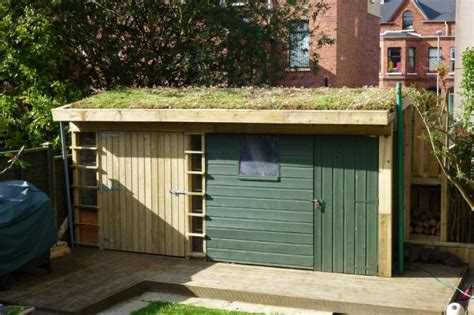 Green Roof For Shed by Green Sedum Shed Roof Green Roofs Direct