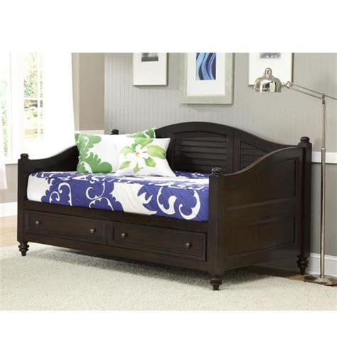 Daybed With Drawers by Bermuda Wooden Daybed With Drawers