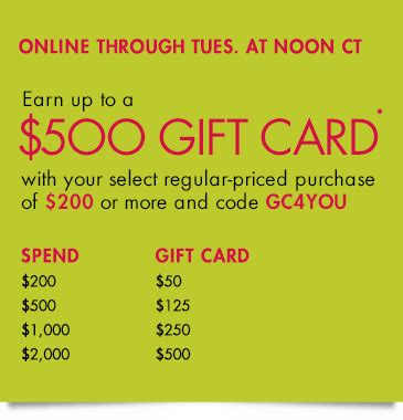 Neiman Gift Card Event - neiman marcus deals combining amex sync and gift card