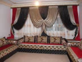 rideaux occultants salon marocain