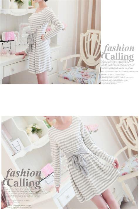 D4314 Dress Import Korea Murah Asli 100 No Replika dress korea pita murah 2014 model terbaru jual murah import kerja