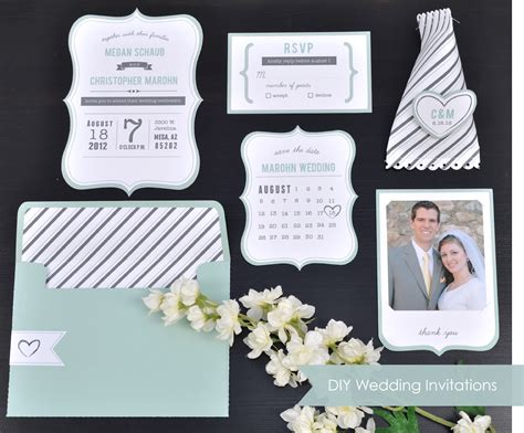 diy wedding invites free 10 great diy wedding projects yeahmag