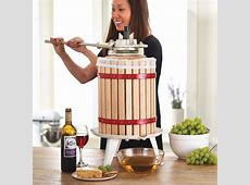 4-Gallon Double Ratchet Fruit and Wine Press | Northern ... Zoom Cast