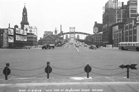 City Of Philadelphia Records Then And Now Photos Show History Of Ben Franklin Bridge Phillyvoice