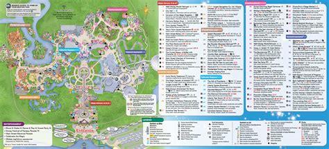 printable maps for magic kingdom june 2016 walt disney world park maps with magic kingdom