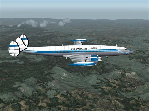 SAA Lockheed L-1049 Constellation (Old) for FS2004 L 1049