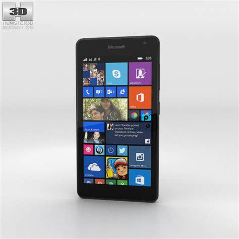 Pasaran Microsoft Lumia 535 microsoft lumia 535 gray 3d model hum3d