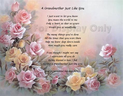 Deceased Grandmother Birthday Quotes Poems Mother Deceased Quotes Happy Birthday Gift Mom