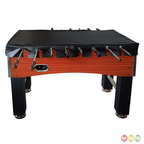foosball table cover foosball 56 in table top cover in black faux leather