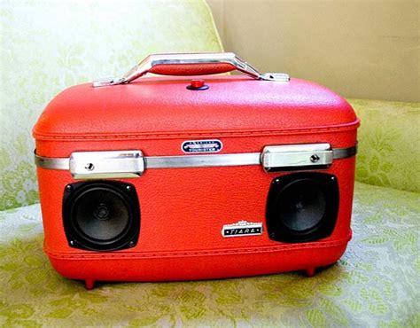 Handmade Suitcase - retro suitcase boombox for modern audio devices gadgetsin