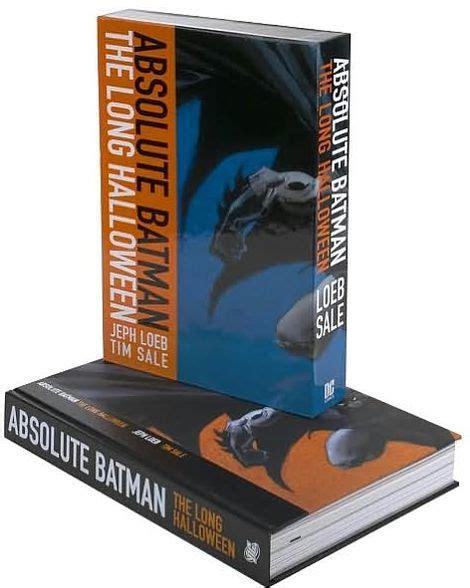 absolute batman the long 1401212824 absolute batman the long halloween by jeph loeb tim sale hardcover barnes noble 174