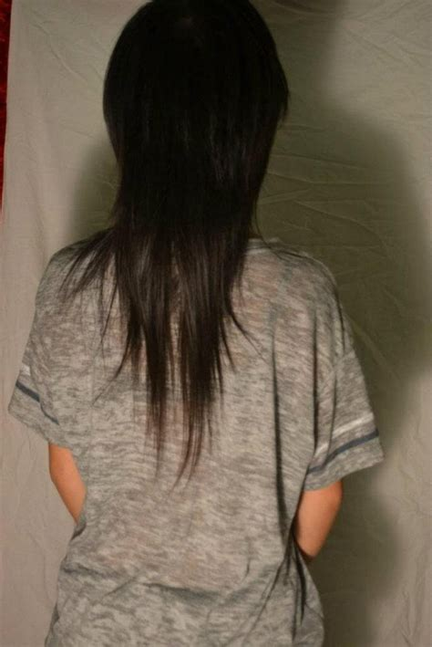 emo hairstyles front and back view 20 best images about emo hair on pinterest emo hair dye