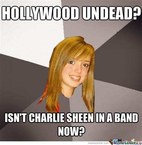 Hollywood Meme - hollywood undead by crazy comet meme center